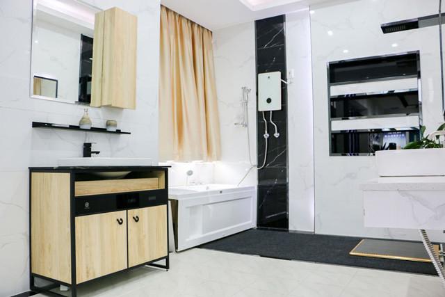 汉逊集成热水器,惊艳整个家的洗漱浴室空间