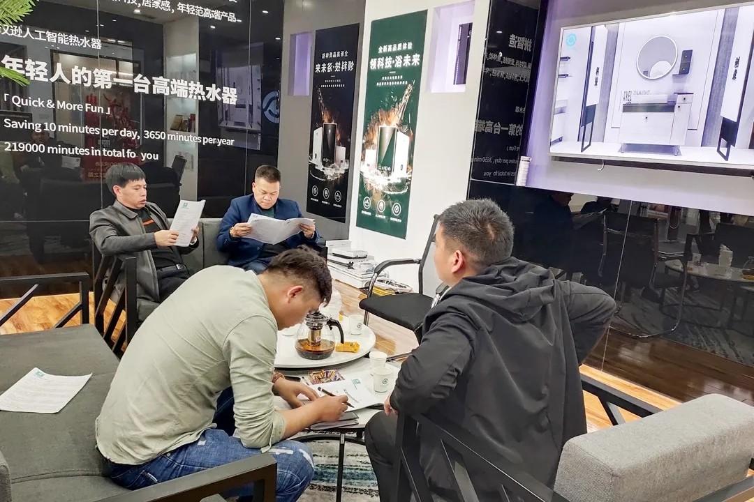 """汉逊智慧卫浴喜迎""""开门红"""",广西百色市签约仪式"""